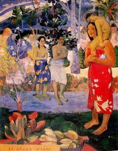 "Paul Gauguin, ""Ia Orana Maria"", 1891"