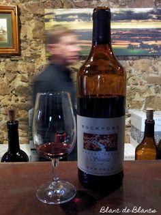 Rockford Basket Press Shiraz. Superb wine with a gorgeous bottle.