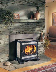 Wood Stove Ideas Stone Surround Wood Burning Stove