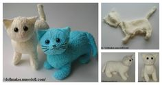 Here's the link to the tutorial >> DIY Terry Cat Tutorial <<…