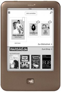 Tolino Shine eReader Launched - Germany's Next Marginally Successful eReader - The Digital Reader
