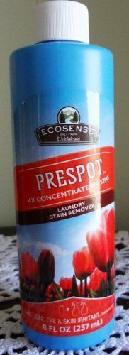 Melaleuca PreSpotTM 4x Laundry Stain Remover by Ecosense.  Safe for your home…