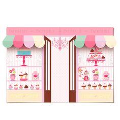 Decora House I Hääkoristeet I Juhlakoristeet I Kattaustarvikkeet Cupcake Shops, Cupcake Party, Cupcake Bakery, Candy Theme, Candy Party, Birthday Party Themes, 2nd Birthday, Ice Cream Party, Baby Shower Balloons