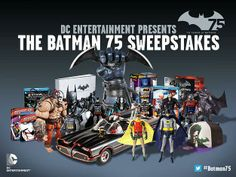 Worlds Finest News | DC Announces the Batman 75 Sweepstakes