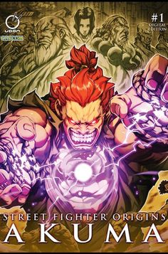 This is the next generation of comic book - Street Fighter Origins - Akuma #1 - Comic books by Visionbooks