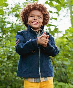 Look at this #zulilyfind! Navy Speed Jacket - Toddler & Boys #zulilyfinds
