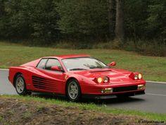 Ferrari Testarossa - Top Favs