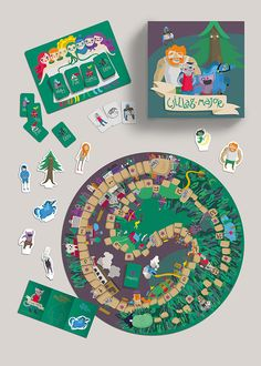 My final project in my school was a board game based on the novels of the Hungarian writer, Ervin Lázár.I wanted to give a fresh, contemporary look to the characters and the environments, which children can relate to.The game structure was my task as we…