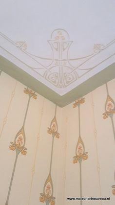 Swedish Art Nouveau wallpaper