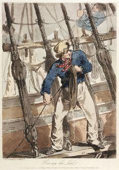 Sailor Heaving the Lead, 1807