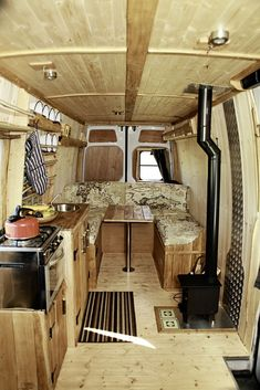 Constance has a beautifully rustic, solid wood interior and is big enough for a family to enjoy a comfortable holiday, long or short. Panelled in... www.quirkycampers.co.uk