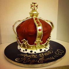 King's crown cake