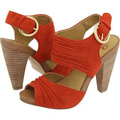 Definitely want a pair of orange sandals for summer 2012