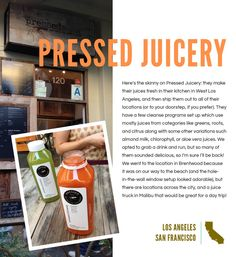 on the town 04 / pressed juicery review by @whitney