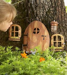 would love to make a fairy garden in the backyard with my daughter.