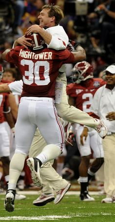 LOVE this picture! Hightower and Smart. #RTR www.RollTideWarEagle.com College Football Blog and Train Deck tutorial. #SEC #CFB