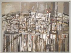 Museo Arpad Szenes Vieira da Silva: Les Rues (The streets)