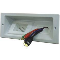 Système de gestion des câbles mural de SANUS (ELM806-W3) : Gestion des câbles - Best Buy Canada