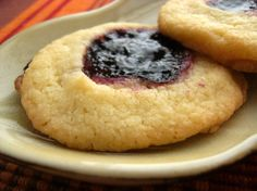 December 17: 4-Ingredient Thumbprint Cookies