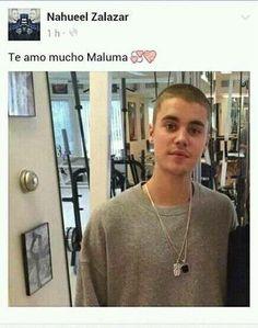 Capturas Fake - Maluma - Wattpad( Justin Bieber- risa-chistes-capturas