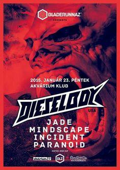 Dieselboy @ Akvárium Klub Budapest, Events, Movie Posters, Movies, Art, January, Happenings, Craft Art, Films