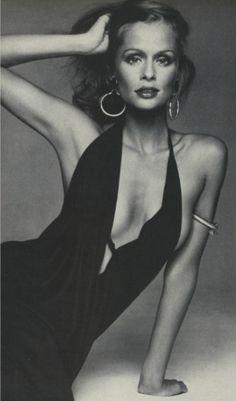 Lauren Hutton, 1970s.