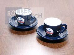 Espressotasse mit Unterteller Vespa Servizio 2er Set #vespa #espresso #cup #accessoires #italy #lifestyle