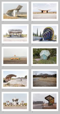 Soviet Bus Stops, by Christopher Herwig.