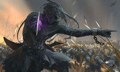 Ghostblade by wlop.deviantart.com on @DeviantArt