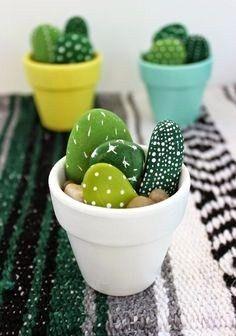 Une forêts de cactus fait avec amour!