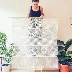 "3,788 Likes, 144 Comments - Creative & handmade community (@craftsposure) on Instagram: ""Macrame love @createaholic  #craftsposure """