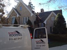 Beautiful Home in Cary NC with a New Roof by Scrou0027s Roofing Company | Our Roofs | Pinterest | Beautiful Beautiful homes and As & Beautiful Home in Cary NC with a New Roof by: Scrou0027s Roofing ... memphite.com