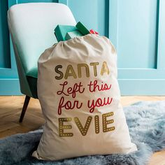 Are you interested in our christmas stocking? With our personalised christmas present sack you need look no further.