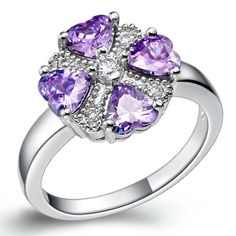 Find More Rings Information about Ring Crystal Silver Plated Jewelery Women Wedding Party Fashion Amethyst Rhinestones Anel Com Pedra Grande Joyas de Plata J362,High Quality jewelery set,China jewelery diamond Suppliers, Cheap jewelery crafts from ULove Fashion Jewelry Store on Aliexpress.com