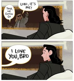 Loki can't decide if some great anomaly magic just accured or Thor developed a sense of humor. Avengers Humor, Avengers Comics, Funny Marvel Memes, Dc Memes, Marvel Jokes, Loki Meme, Loki Funny, Thor X Loki, Loki Marvel