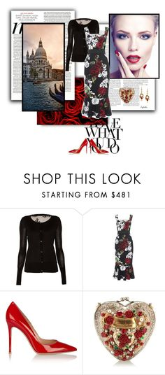 """""""Venezia"""" by angelicallxx ❤ liked on Polyvore featuring Valentino, Temperley London, Dolce&Gabbana, Gianvito Rossi, TemperleyLondon, dolcegabbana and GianvitoRossi"""