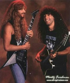 Dave Mustaine/Marty Friedman