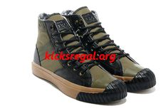 Discount Kicksregal net Wholesale Converse Army Green Mark Wahlberg Shooter  All Star High Tops Canvas Bright 78c0e64ca