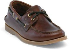 21e6018a8 SPERRY TOP-SIDER Men s Authentic Original 2 Eye Boat Shoe (Amaretto 14.0 M)