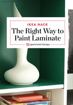 The Right Way to Paint IKEA Furniture | IKEA's popular material of choice: particleboard covered in laminate. It's super affordable, which makes it a great option for budget-friendly projects, but can it really be painted sans streaking, bubbling, and peeling? Let me assure you, you can paint laminate furniture from IKEA, just follow these steps.