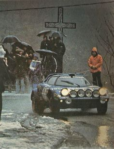 Don't believe everything you see, Stratos not dead Monte Carlo, Classic Sports Cars, Classic Cars, Sport Cars, Race Cars, Cool Car Pictures, Rally Raid, Cool Cars, Dream Cars