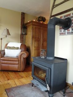 THE LONG AWAITED HOME: WOODSTOVE