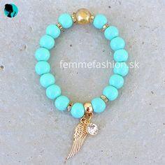 Náramok Tyrkys Angel  http://femmefashion.sk/naramky/2446-naramok-tyrkys-angel.html
