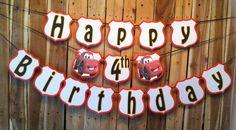 "Cars ""Happy Birthday Banner"""