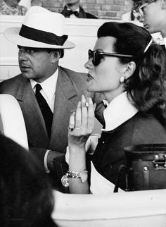 Rita Hayworth with husband Prince Aly Khan