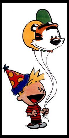 Calvin and Hobbes Party by KawaiiUniverseStudio