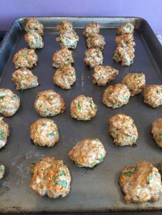 Turkey meatballs with oatmeal... Made these but added more spices! will cook…