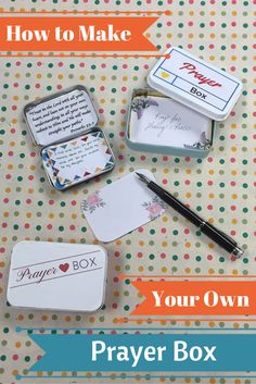 How to Make your Own Prayer Box. Easy DIY instructions.