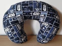 Star Wars Boppy Cover -- Breastfeeding Pillow Slipcover Minky by MamaFoxSews on Etsy https://www.etsy.com/listing/243286664/star-wars-boppy-cover-breastfeeding
