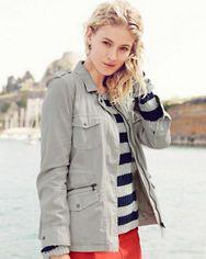 Cargo Jacket from Lily Aldridge for Velvet